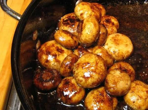 Cajun Glazed Mushrooms Recipe