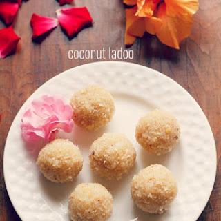 How To Make Coconut Ladoo With Khoya Or Mawa