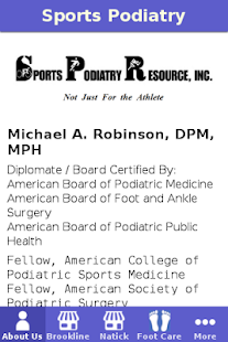 Sports Podiatry- screenshot thumbnail