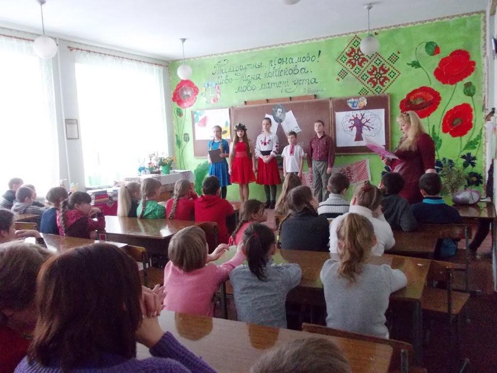 21 лютого в навчальному закладі гучно відзначали Свято рідної мови
