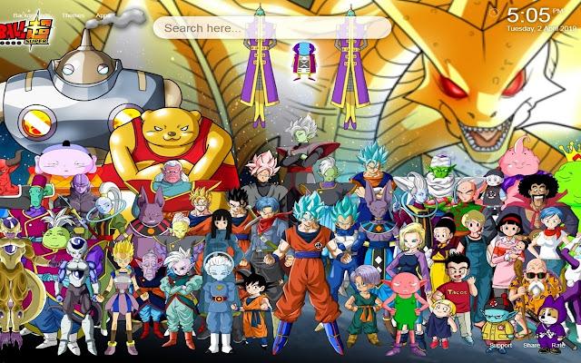 Dragon Ball Super HD Wallpapers NewTab