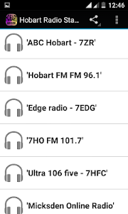 Hobart Radio Stations screenshot 0
