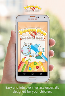 FingerPen 🎨 Coloring book for kids Screenshot