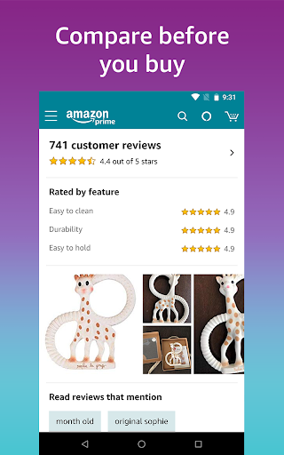 Amazon Shopping - Search Fast, Browse Deals Easy screenshots 5