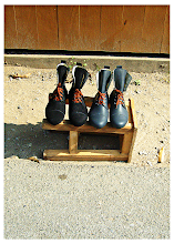Photo: Boots (After Magritte)