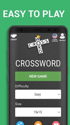 Crossword Puzzle Free Classic Word Game Offline screenshots 1