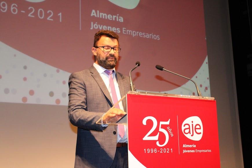 José Juan Carricondo Martínez, vicepresidente I de AJE Almería.
