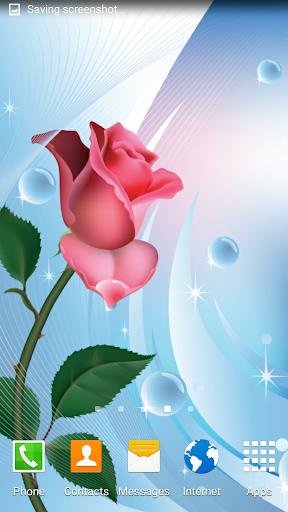 Rose Live Wallpaper  screenshots 1