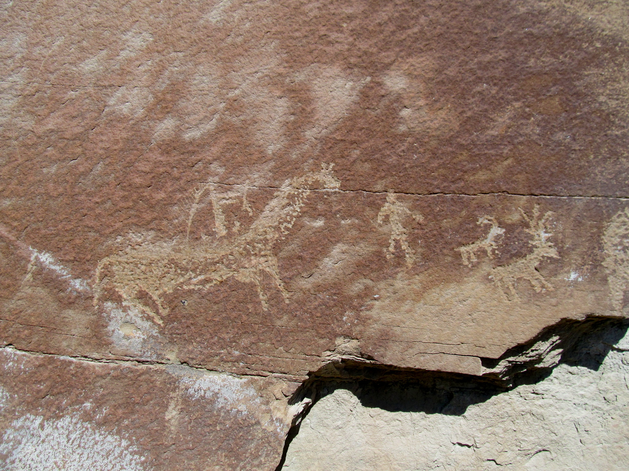 Photo: Ute petroglyphs