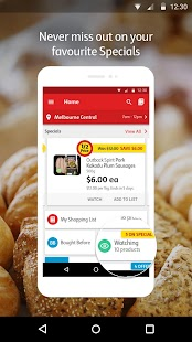 Coles App- screenshot thumbnail