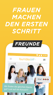 Bumble — Dating. Freunde. Networking. Screenshot