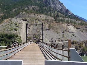 Photo: Old Bridge across Fraser, Lillooet