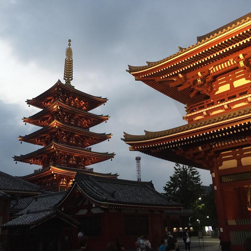Tempio Senso-ho Tokyo di smpaint