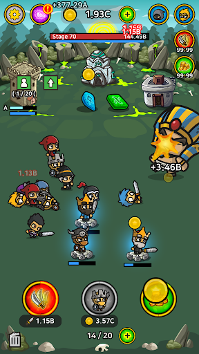 Battle Heroes : Merge Idle Tycoon - screenshot