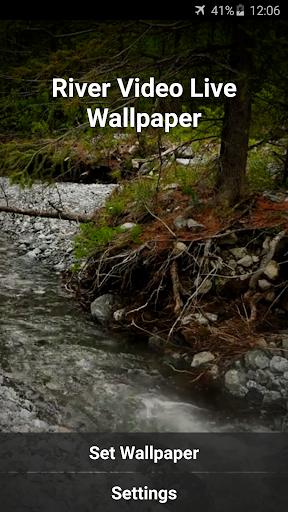 無料个人化Appの川ビデオライブ壁紙|記事Game