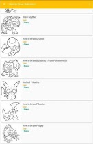 How to Draw Pokemon - screenshot thumbnail 03