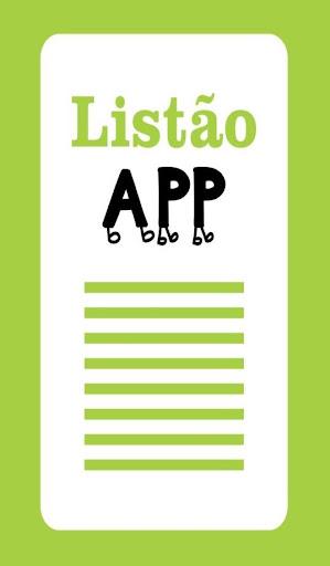 ListãoApp