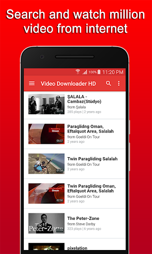 Foto do Video Downloader HD