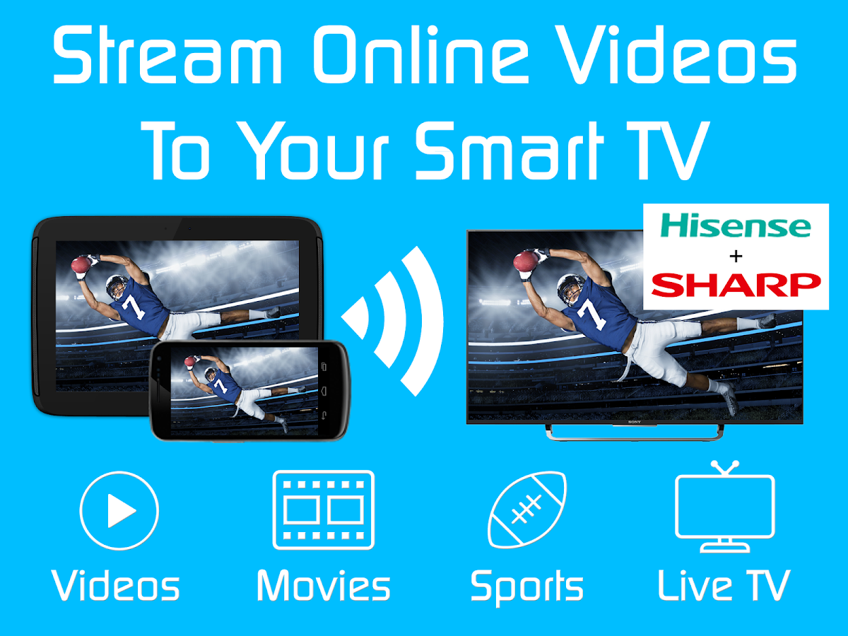 Video & TV Cast | Hisense TV + Sharp TV with VEWD- screenshot