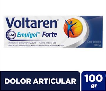 Voltaren Emulgel Forte   2.32% Crema Tubo x100G. Novartis Diclofenaco