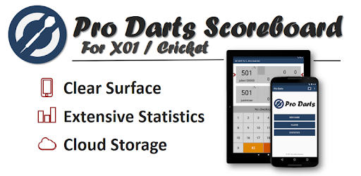 Enter scored points, view statistics and synchronize your games online.