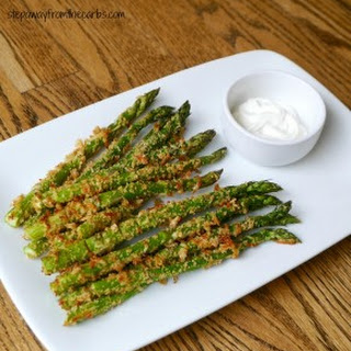 Low Carb Asparagus Fries.