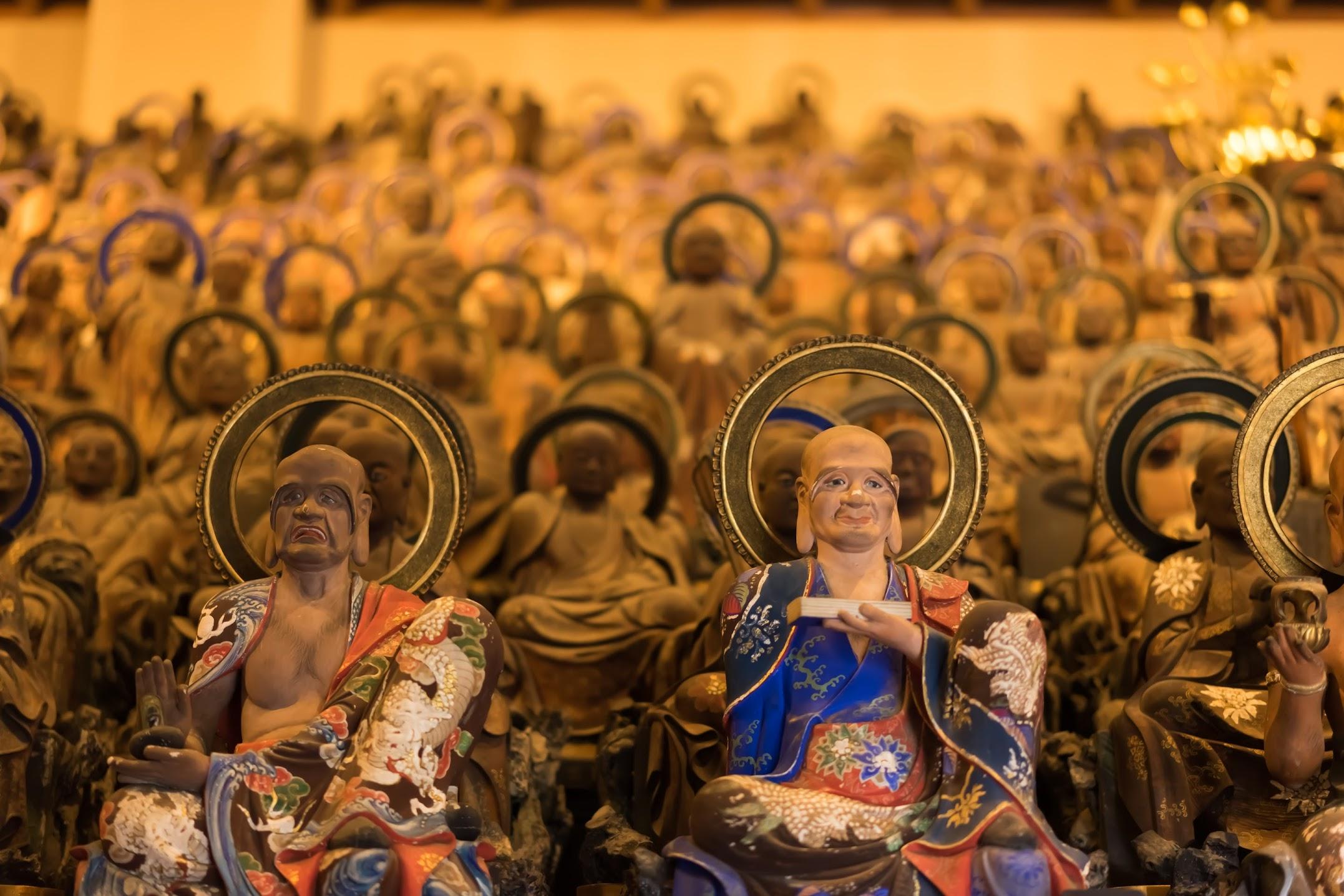 onomichi Tenneiji Temple statues