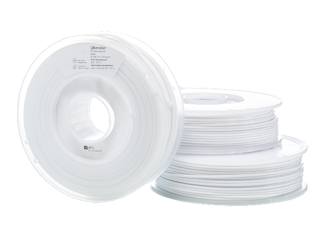 Ultimaker White PC Filament - 2.85mm (0.75kg)
