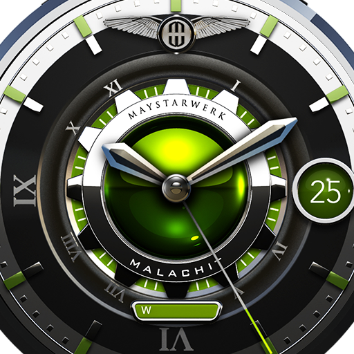 Malachit Watch Face