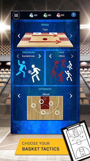 D8 War - Basketball Manager Game 2019  captures d'u00e9cran 2