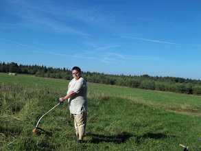 Photo: sekání trávy