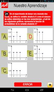 PSU Matemática Prueba Ensayo screenshot 11