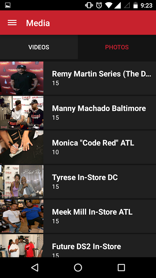 DTLR Radio- screenshot