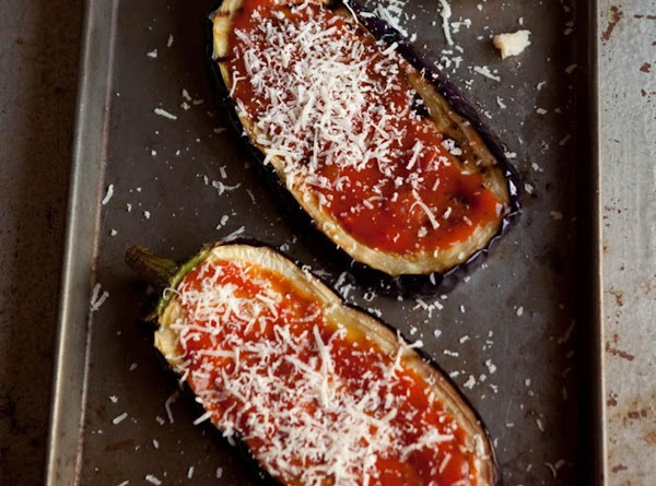 Once they are grilled set them aside on a baking tray and start adding...