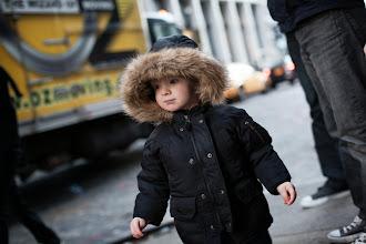 Photo: David Friedlander's son, a young minimalist in NYC (photo by Spyr Media)