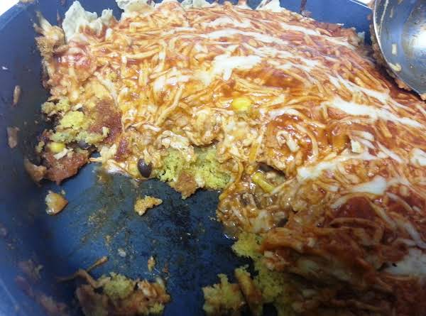 Hot Tamale Cast Iron Casserole Recipe