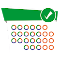 Easy work scheduling icon