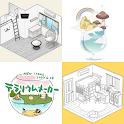 House 3D Design - Build Cute Pocket House icon