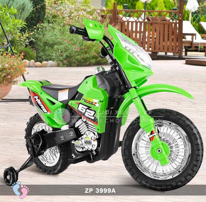 Xe mô tô điện 2 bánh địa hình cho bé ZP3999A 3