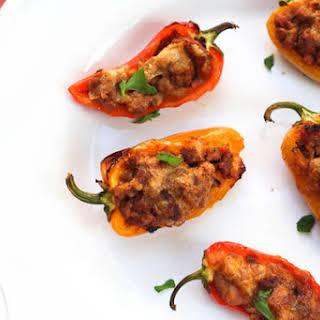 Mini Sweet Taco Pepper Poppers.