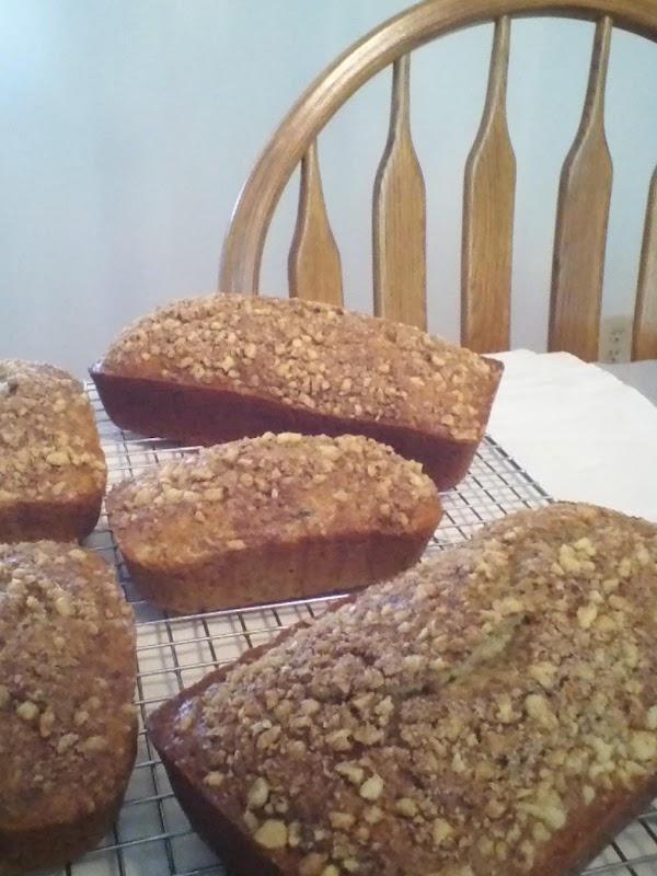 Zucchini Pineapple Nut Bread Recipe
