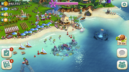 FarmVille: Tropic Escape 1.16.925 MOD (Unlimited Money) Apk 6