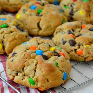 Thick & Chewy Monster Cookies.
