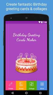 Birthday Greeting Cards Maker - náhled