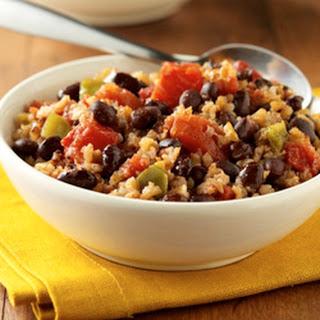 Cajun Black Beans and Brown Rice.