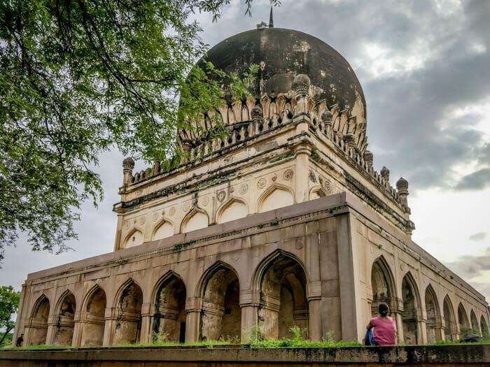 golconda fort image for hyderabad travel blog