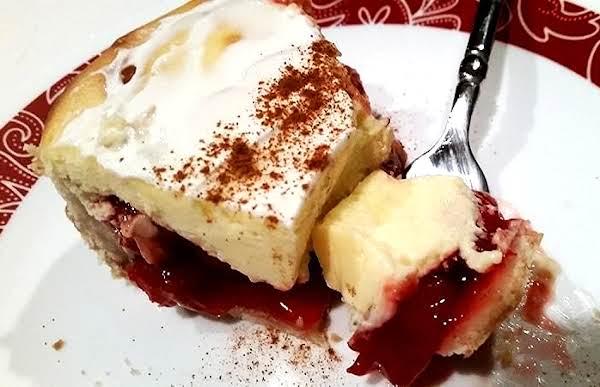 ~ Valentine Cherry Cream Pie ~