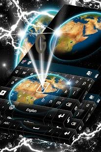 Světová klávesnice téma 2017 - náhled