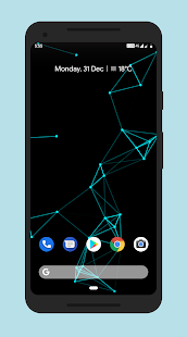 Particle Live Wallpaper Pro Screenshot