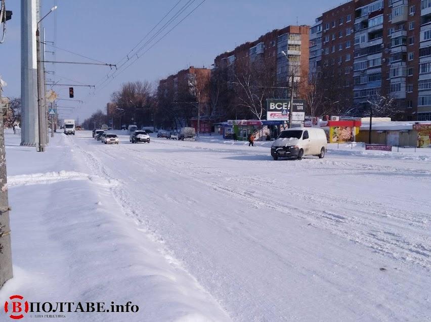 Полтаву вхурделило: ранок у місті після сильної негоди (ФОТО, ВІДЕО), фото-8